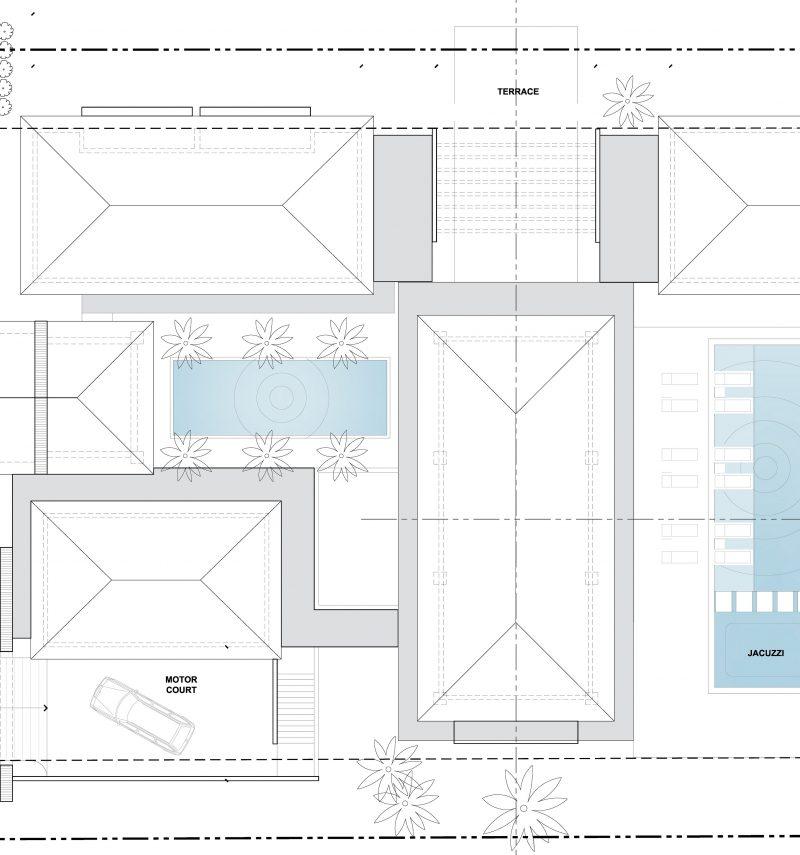 Ramirez Res - Roof Plan